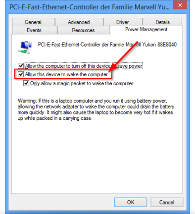 TeamViewer windows EarthernetController