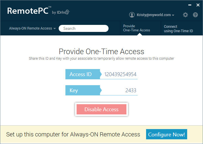 frequently asked questions remotepc remote access