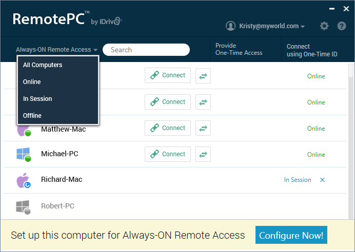 Frequently Asked Questions - RemotePC™ - Remote Access