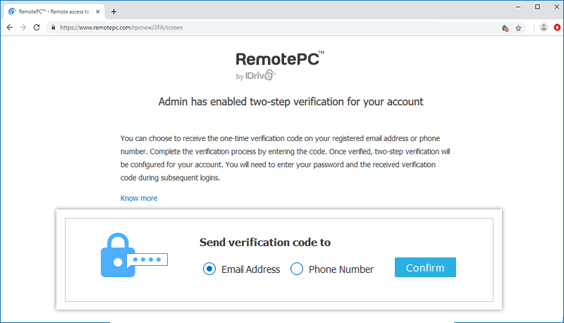 Frequently Asked Questions - RemotePC™ - Security